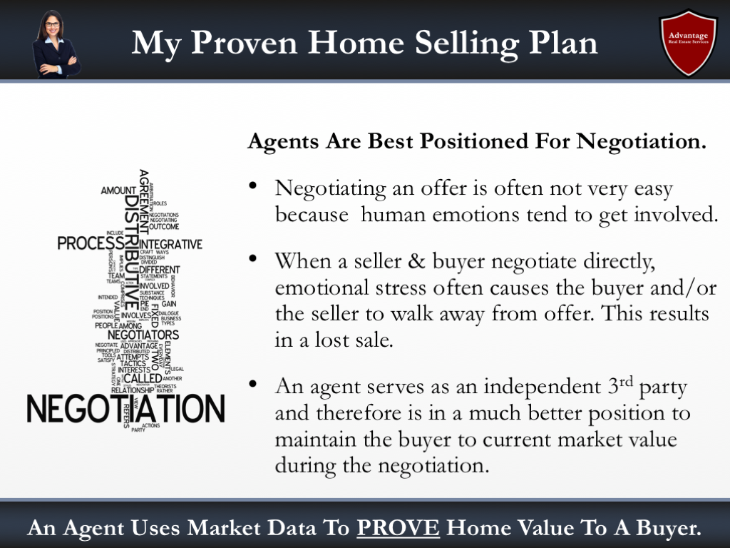 Negotiation With The Buyer Slide