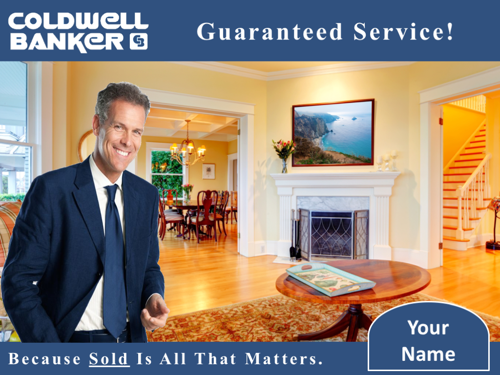 Cover Slide Example Of The Bonus Coldwell Banker Template