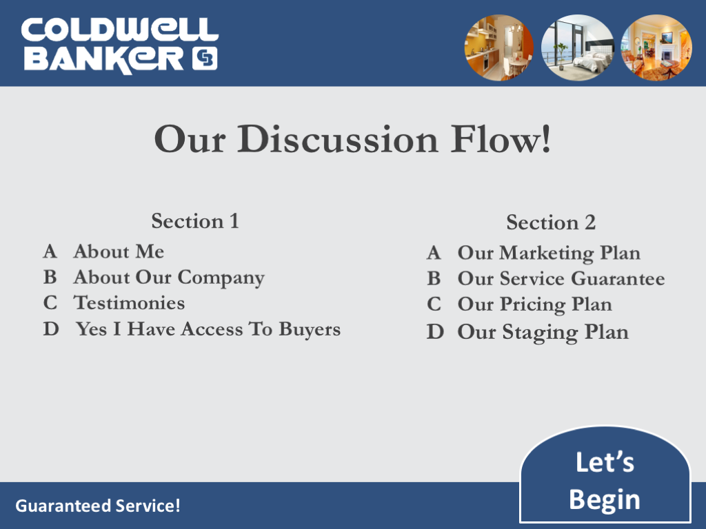 Content Slide Example Of The Bonus Coldwell Banker Listing Presentation