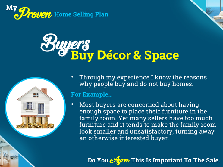 Listing Presentation Marketing Plan - Buyers Buy Decor & Space