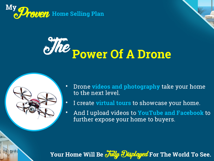 Listing Presentation Marketing Plan - The Power Of A Drone & Drone Photography