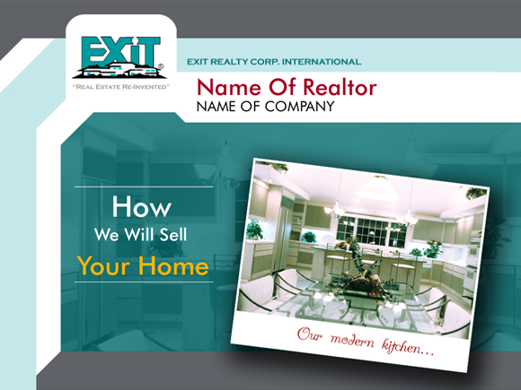 Cover Slide Example Of The Bonus EXIT Realty Template