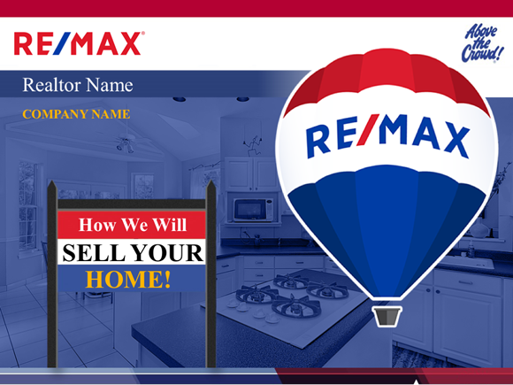 Cover Slide Example Of The Bonus RE/Max Template