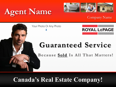 Royal LePage Branded listing presentation