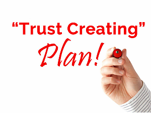 a real estate agent wants a trust creating plan within the listing presentation