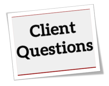 client questions in a listing presentation