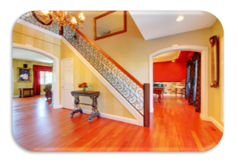 what to do and say when you enter into the foyer of the seller's home