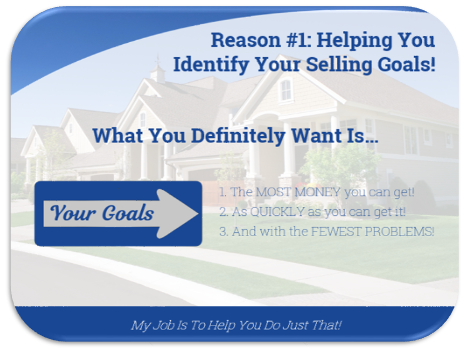 Reason 1: selling goals