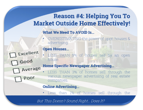 Reason 4: helping you to market outside home effectively