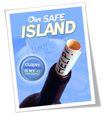 Safe Island question and answer presentation for use within a listing presentation