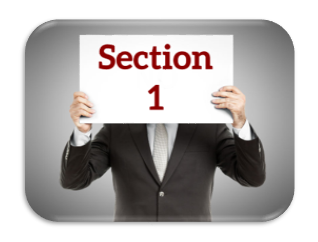 listing presentation section 1 purpose