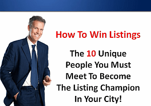 Traning on how to win listings when on a listing appointment using a listing presentation